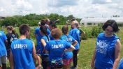 Campers visit EKU's Red Barn Garden project